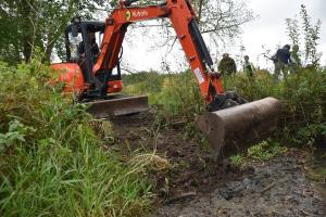 The digger by the brook